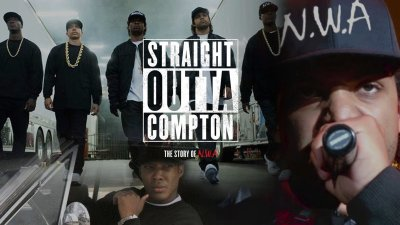STRAIGHT OUTTA COMPTON rap rapper hip hop gangsta nwa biography drama music 1soc poster ...