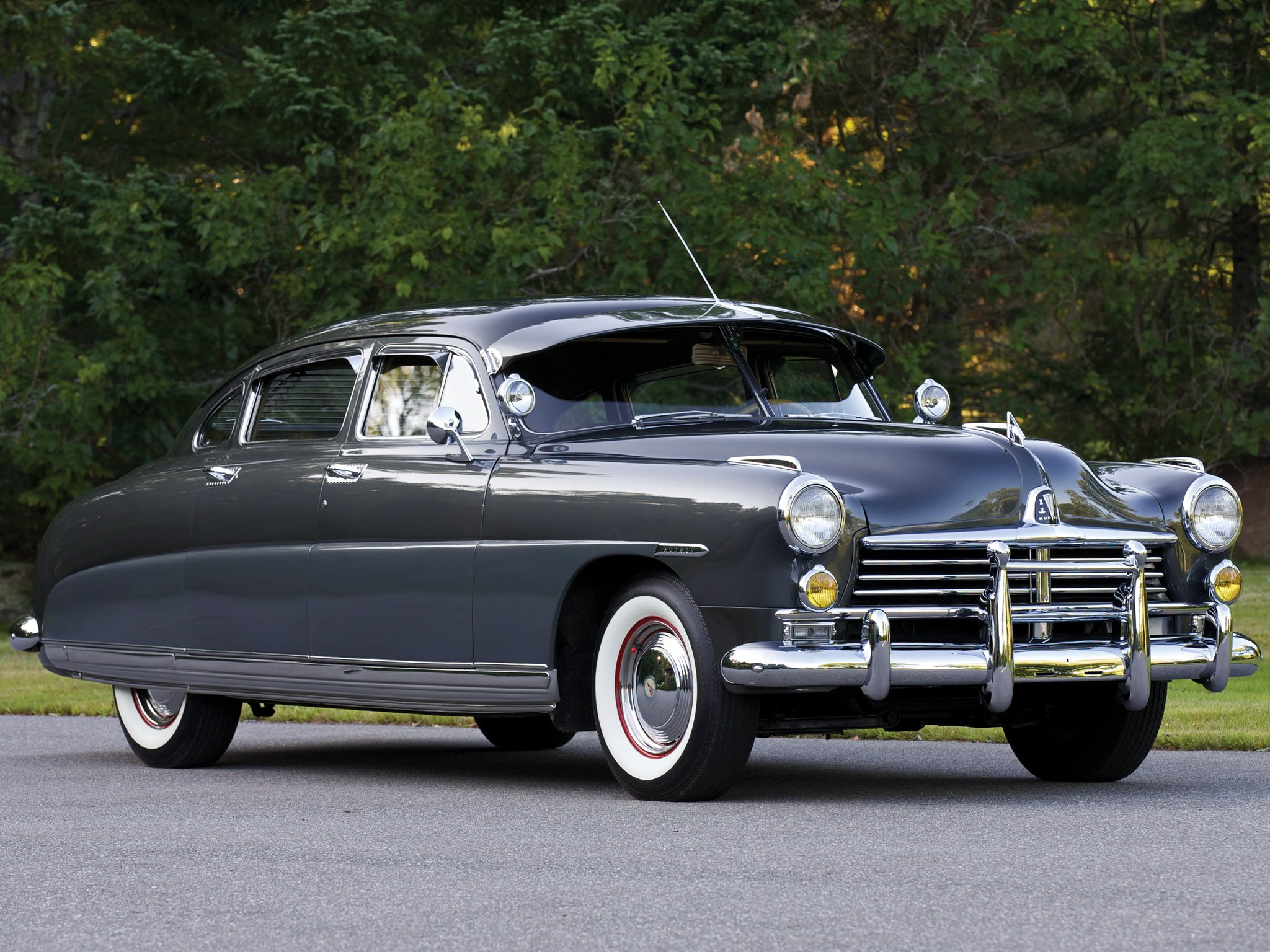Small Size Car Wallpapers 1948 Hudson Commodore Eight Sedan Cars Classic Wallpaper