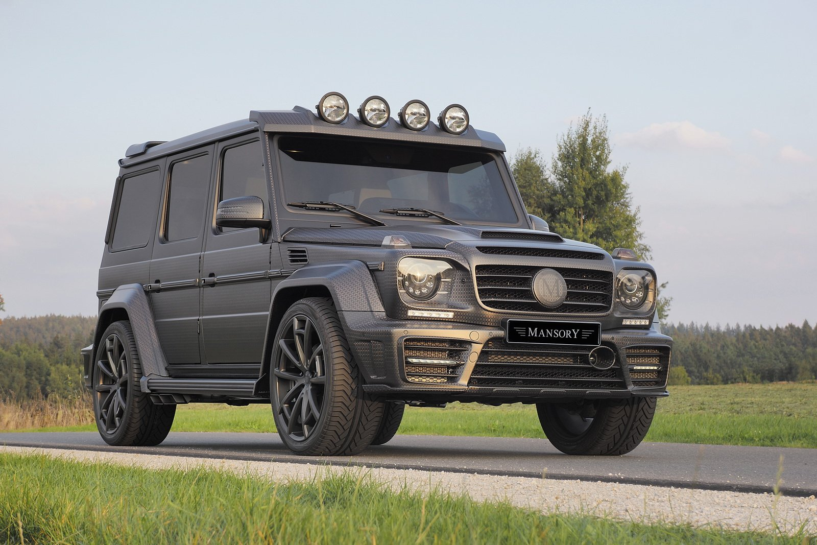 Mercedes Modified Cars Wallpapers Mansory Mercedes G63 Amg Gronos Black Edition Cars 4x4