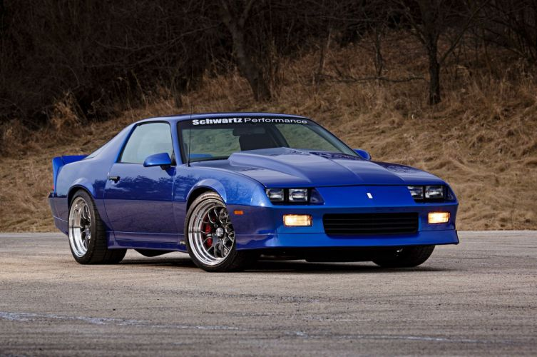 Pics Of Cars Wallpapers 1989 Chevrolet Chevy Camaro Rs Supre Street Pro Touring