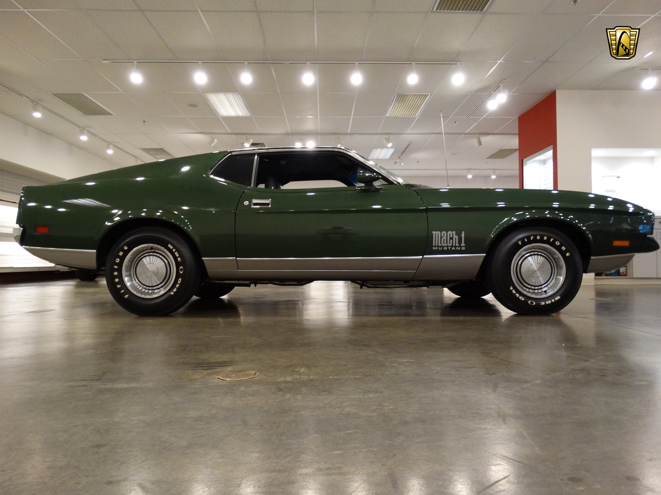Hd Wallpapers Cars Mustang 1971 Ford Mustang Mach 1 Cars Green Coupe Usa Wallpaper