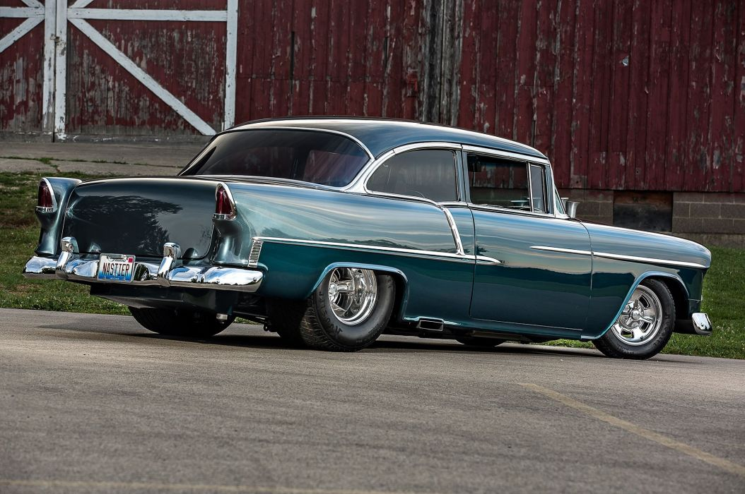 Classic Car Wallpaper 57 Chevy 1955 Chevrolet Chevy Bel Air Belair Coupe Pro Street Super