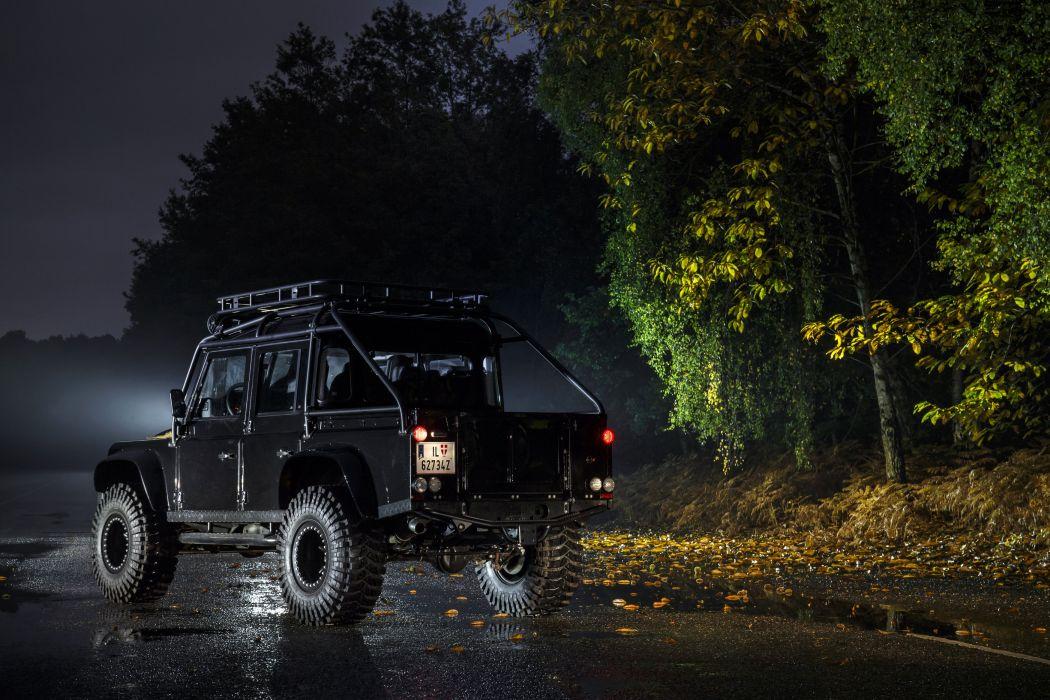Future Car Wallpaper Hd For Desktop Land Rover Defender 110 007 Spectre Cars 4x4 Black Movies