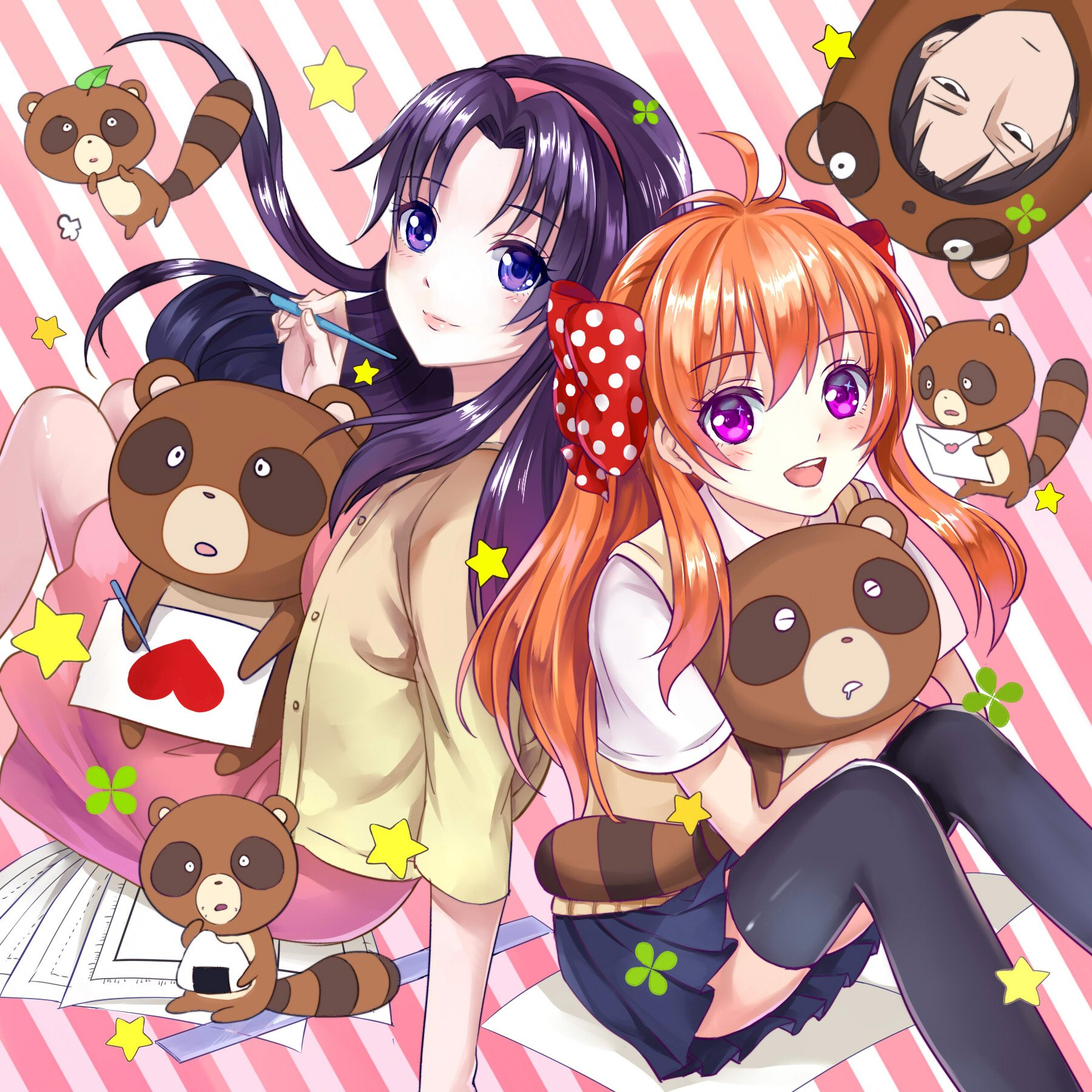 Anime Wallpaper Cute Gif Chiyo Blush Gekkan Shoujo Nozaki Kun Sakura Nozaki Long