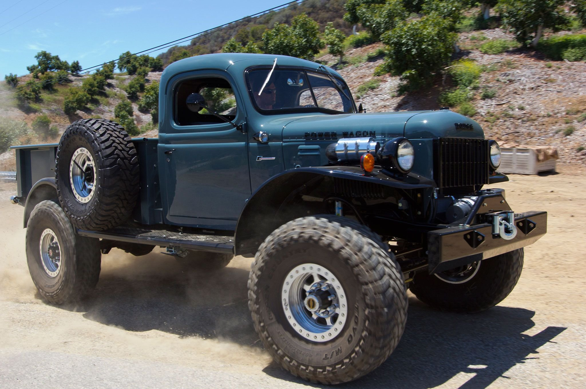 1957 Cars Restored Or Wallpapers 1949 Dodge Power Wagon 4x4 Pickup Custom Tuning Retro