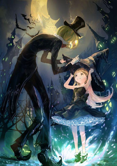 Beautiful Girl Photo Wallpaper Download Anime Girl Cute Beautiful Dress Flower Long Hair Hallowen