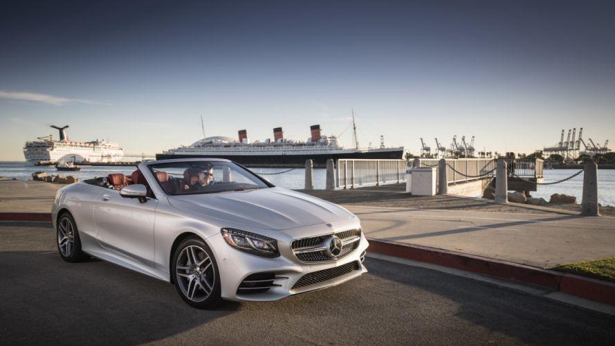 2560x1440 Wallpaper Cars 2018 Mercedes Benz S560 Cabriolet Amg Line A217 Wallpaper