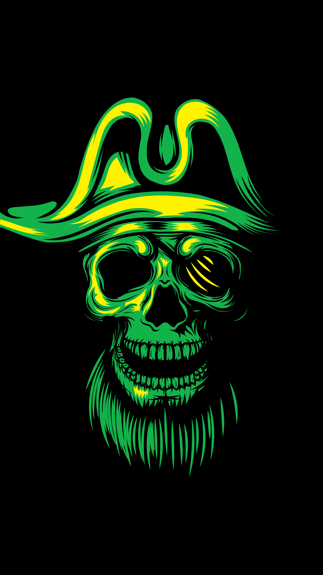 Live Wallpaper On Home Screen For Iphone X Ultra Hd Pirate Skull Wallpaper For Your Mobile Phone 0215