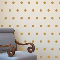 Polka Dot Wall Decals Kit