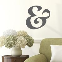 Ampersand Wall Quotes Wall Art Decal | WallQuotes.com