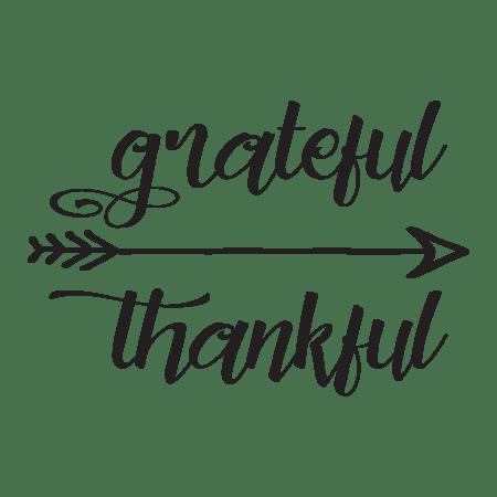 Seasonal Fall Coffee Desktop Wallpaper Grateful Thankful Arrow Wall Quotes Decal Wallquotes Com