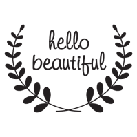Hello Beautiful Wall Quotes Decal | WallQuotes.com