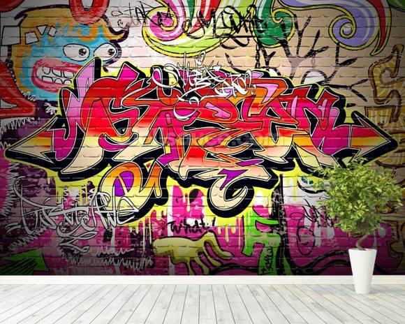 3d Art Street Wallpapers Graffiti Wall Wallpaper Wall Mural Wallsauce Usa