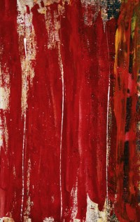 Red Study 1 - Abstract Painting In Red Wall Mural | Red ...