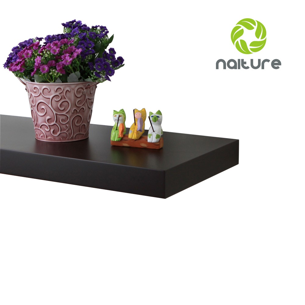 Naiture 48 X 12 X 2 H Inch Floating Wall Shelf Hidden