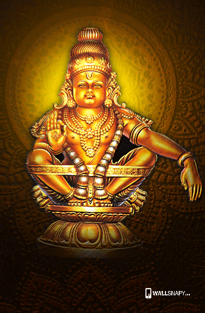 Ayyappan 3d Wallpaper Hindu God Ayyappa Hd Wallpaper Swamiye Saranam Ayyappa