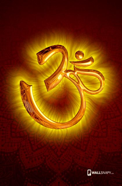 God Mahalakshmi Hd Wallpapers 3s Gold Fire Om Wallpaper Primium Mobile Wallpapers