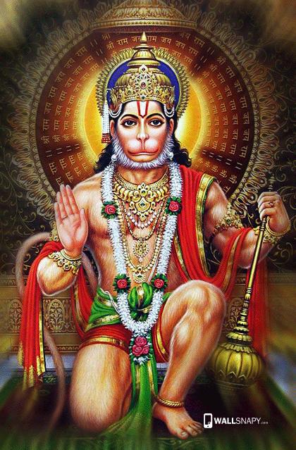 God Mahalakshmi Hd Wallpapers Hanuman Setting Hd Image Primium Mobile Wallpapers