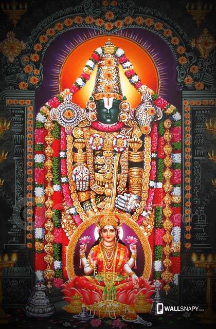 God Mahalakshmi Hd Wallpapers Hindu God Venkatachalapathy Hd Wallpaper Lord Balaji