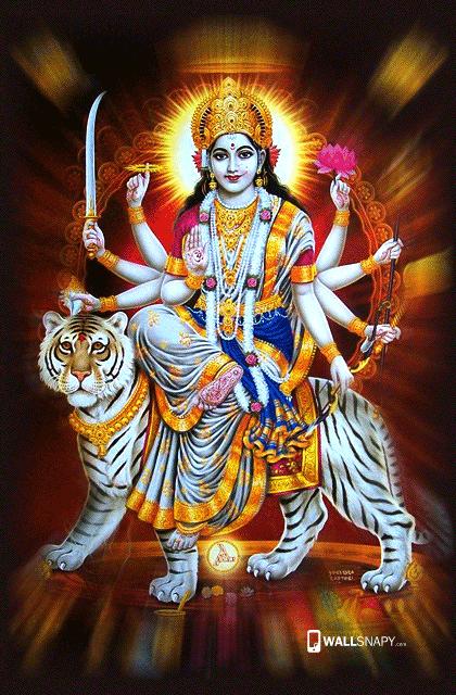 God Mahalakshmi Hd Wallpapers Lord Durga Maa Hd Pictures Primium Mobile Wallpapers