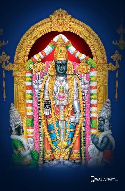 Cute Heart Wallpapers Download Hindu God Venkatachalapathy Hd Wallpaper Lord Balaji