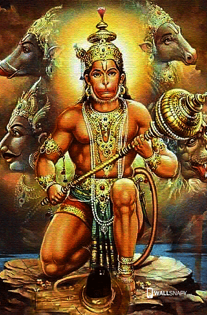 Lord Hanuman Hd Wallpaper Hindu God Jai Hanuman Hd Wallpaper Anjaneya Photos High