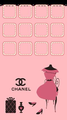 Chanel Wallpaper For Iphone 5 Fond D 233 Cran Chanel Wallpapers
