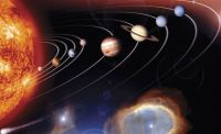 Solar System Wall Mural C833