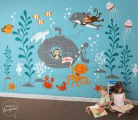 Underwater World Giant Wall Decals SPECIAL SALE