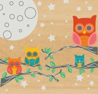Wall Candy Arts Nightly News Owl Wall Decor - Kids Wall ...