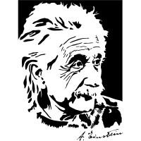 Wallstickers folies : Albert Einstein Wall Stickers