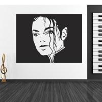 Wallstickers folies : Michael Jackson Wall Stickers