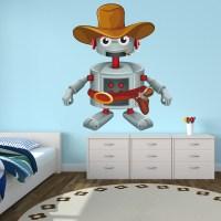 Wallstickers folies : Robot Wall Stickers