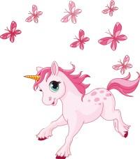 Wallstickers folies : Unicorn Wall Stickers