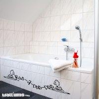 Rub-A-Dub-Dub Wall Art Decals