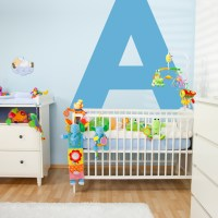 Large Letter Wall Decals | Large Letter Wall Stickers ...