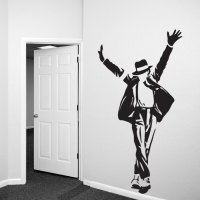 Michael Jackson Wall Decal Sticker