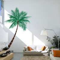 Queen Palm Tree Wall Decal | Palm Tree Wall Sticker | Wallums