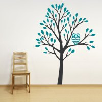 How To Make A Tree Wall Sticker - h Wall Decal