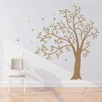wall decals tree 2017 - Grasscloth Wallpaper
