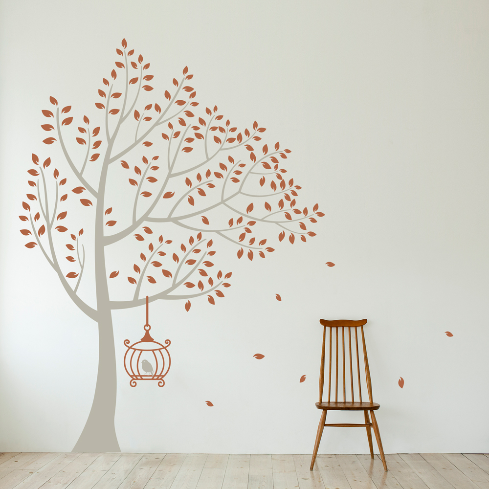 Birdcage Wall Decal B Wall Decal