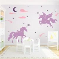 unicorn wall decal  Roselawnlutheran