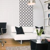 Contemporary Circles Wall Decal