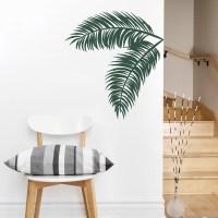 Palm Leaf Wall Decal   Palm Tree Wall Decals   Wallums