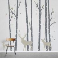 birch tree wall decals | Roselawnlutheran