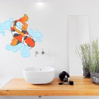Koi Fish Wall Decal | Koi Fish Wall Sticker | Wallums
