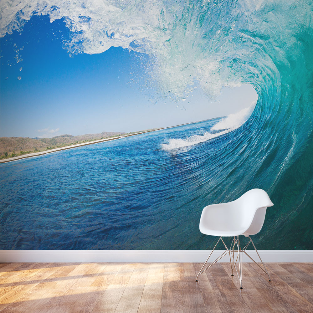Ocean Wall Mural underwater wall murals and underwater wall decals
