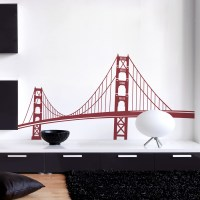 Golden Gate Bridge Wall Decal | San Francisco Wall Sticker