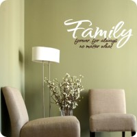 Family Wall Decal | Wall Dcor about Family