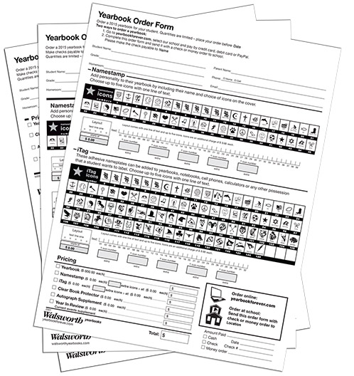 Order-forms » Walsworth Yearbook Companies